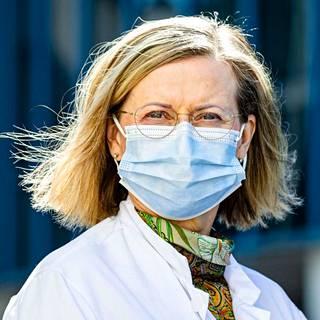 Jaana Syrjänen, Chief Physician, Infection Unit, Tampere University Hospital.