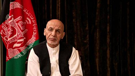 Afghan President Ashraf Ghani on 18 August.