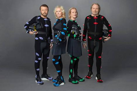 """Björn Ulvaeus, Agnetha Fältskog, Anni-Frid Lyngstad and Benny Andersson will be seen in the live concert """"Abbattaret""""."""