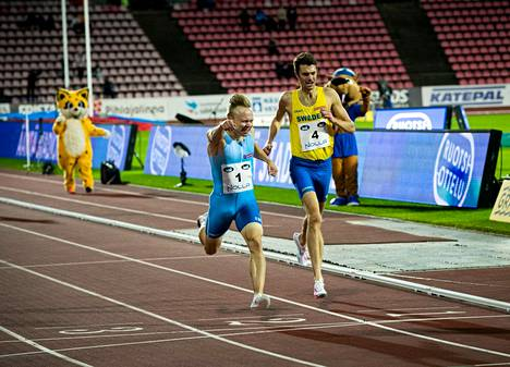 The runs of a Swedish match have always been tough races.  Joonas Rinne won Johan Rogestedt in the 2020 match in Tampere.