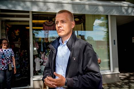 Eemeli Peltonen, 26, was the SDP's rake in Järvenpää.  Peltonen, who led the council during the past term, is confident that the various parties will find a common tone in the council.