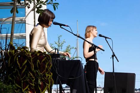 Vilma Ice was accompanied by Inka Pohjonen.