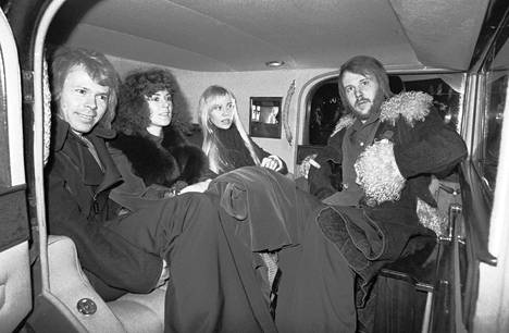 Abba arrived in Helsinki on January 20, 1975. The same evening the band performed at Finlandia Hall.