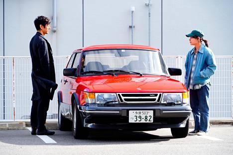 Hidetoshi Nishijima and Tôko Miura in Drive My Car.