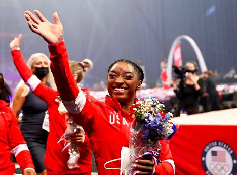 Gymnast Simone Biles was one of the most watched athletes at the Tokyo Olympics.