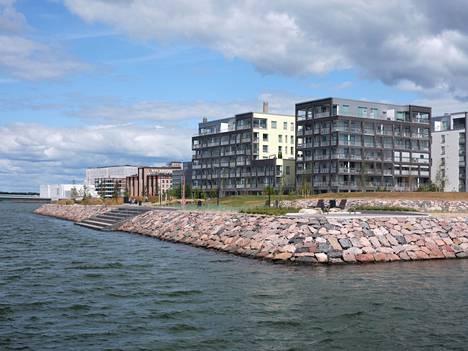 Saukonpaadenpuisto in Jätkäsaari.