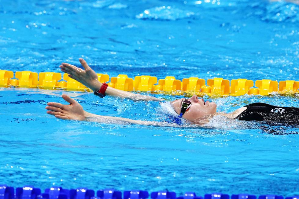 Ida Hulkko says that her goal is to get swimming on everyone's lips, at least in some way.