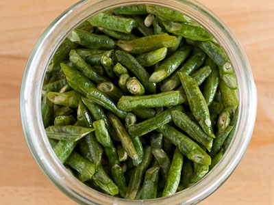 sour pickled beans