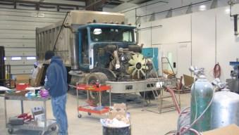 collision repairs shop