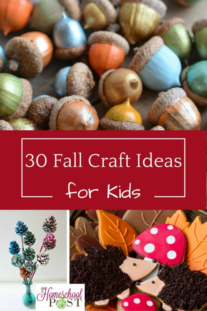 Celebrate fall with these fun fall craft ideas for kids. 30 to choose from so you're sure to find something you love! hsbapost.com