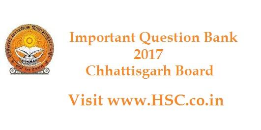 english � important question bank for chhattisgarh class