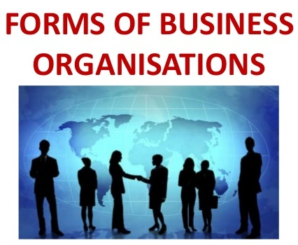 Four forms of business organization 2
