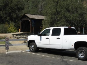 Photo by H.S. Cooper © Chevy at Bridgeport Covered Bridge (CA)