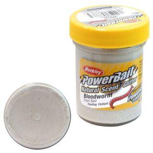 powerbait bloodworm-white