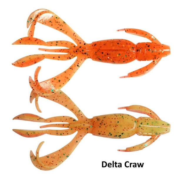 keitech-crazy-flapper Delta Craw