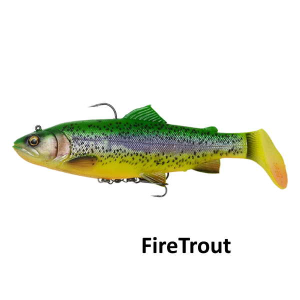 4D Rattle trout firetrout