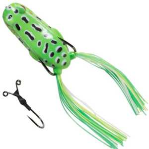 sg pop frog green
