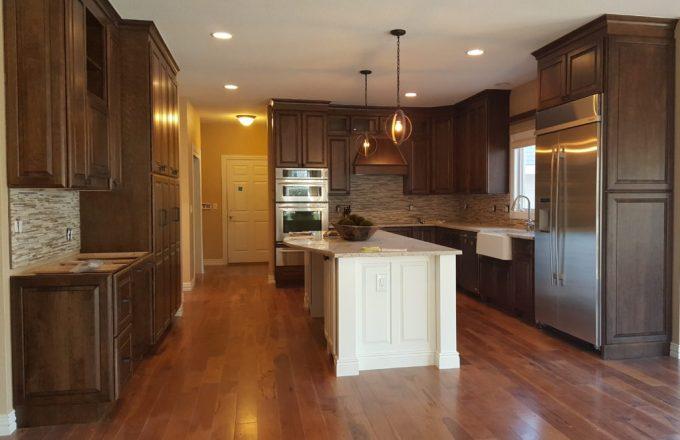 Transitional Kitchen Living Room Remodel Hs Design Build