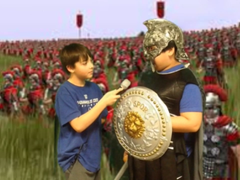 Newscast From Ancient Rome!