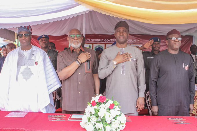 Western Nigeria resorted to self-help in providing additional security shield for its people with the official launch today in Ibadan of Western Nigeria Security Network code-named Operation Amotekun.