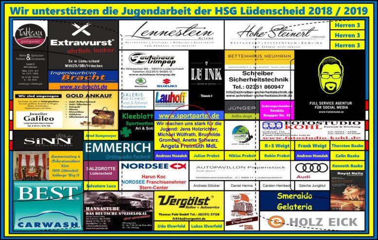 HSG-Spielfeld 2 2018-2019