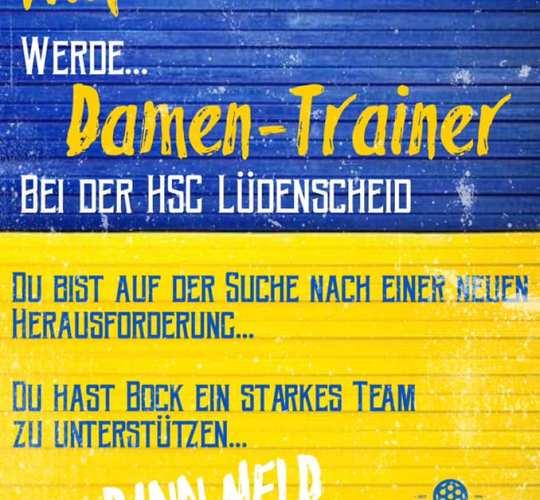 Trainer/in für 2. Damenmannschaft gesucht