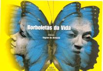 CARTÃO POSTAL - BORBOLETAS DA VIDA - FRENTE