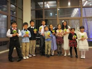 第一屆教會兒童音樂會表演者