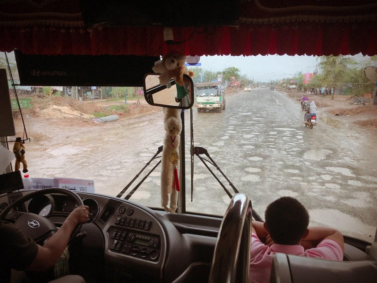 2018.09.17 柬埔寨行程-第五日 (不看診,看花走馬)