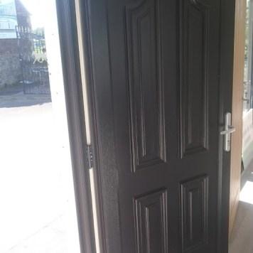 PVC external doors and windows.