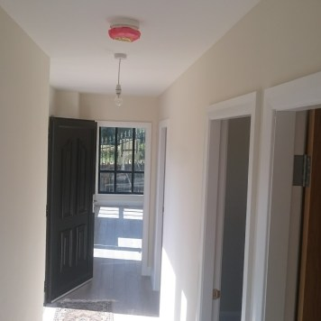 Fitted fire alarm.