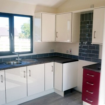 modular homes kitchen