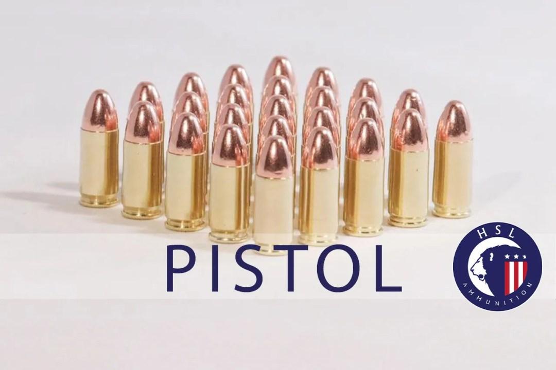 HSL Pistol Ammo