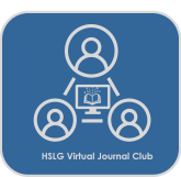 HSLG virtual journal club logo