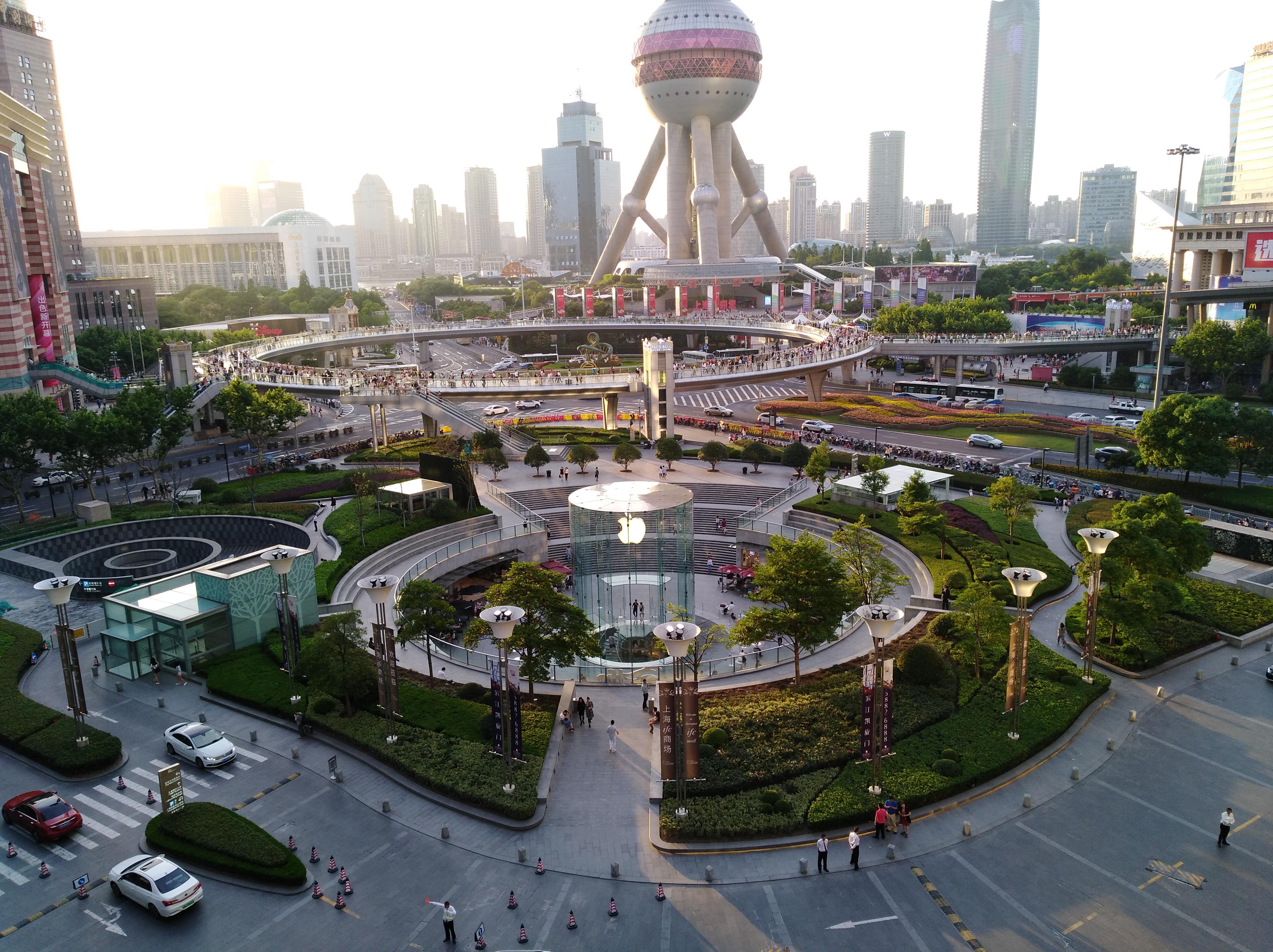 上海浦東國金中心 TWG   xiaohua