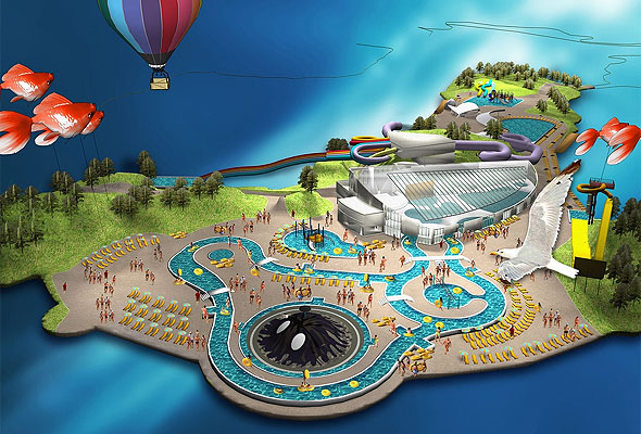 Vannvittigland i Kristiandand (GRID Design)