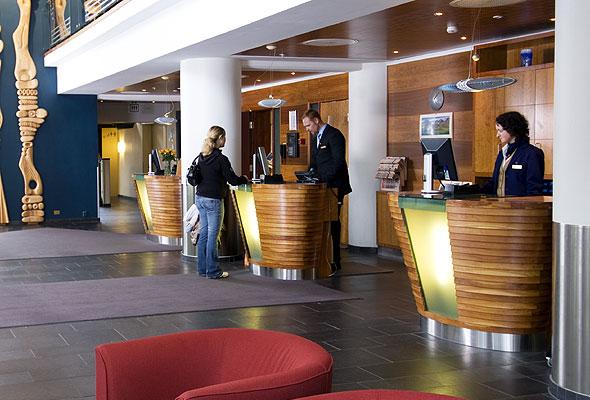 Lobbyen i Rica Forum Hotel i Stavanger. Foto: Rica Hotels/Peder Austrud