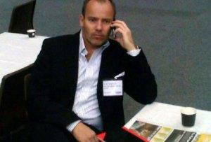 HSMAIs nye styreleder Martin Jørgensen, adm. dir. i Net Trans, på HSMAI Møtebørsen 2010.