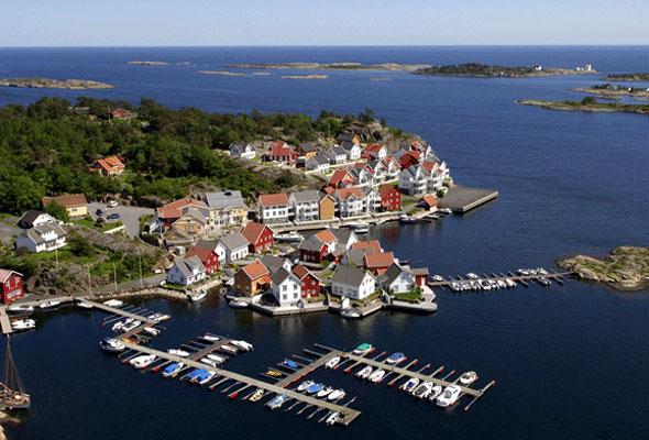 Resort Lyngørporten (foto fra lyngorporten.com)