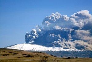 Eyjafjallajökull på Island. Fotograf: Árni Friðriksson/Wikipedia