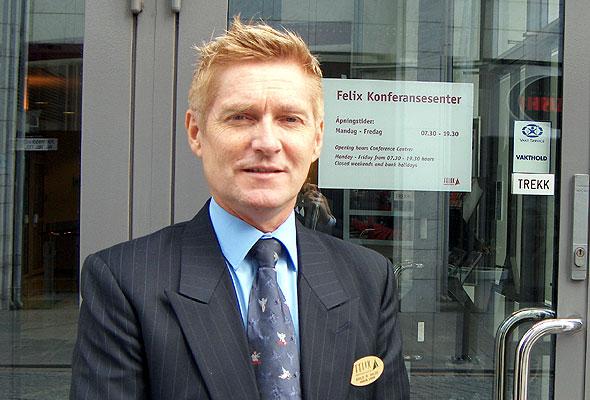 Arild R. Hilde, daglig leder i Felix Konferansesenter
