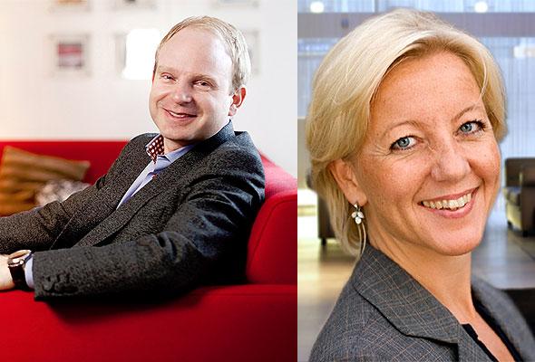 Tobias Ekman og Satu Andersson