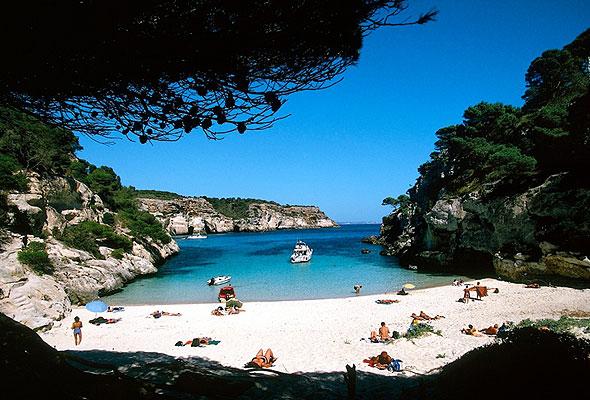 En bortgjemt badevik på Menorca (foto fra Star Tour)