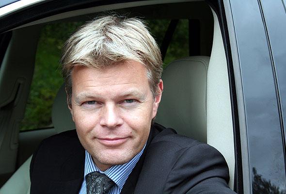 Trygve Simonsen, administrerende direktør i Hertz Norge.