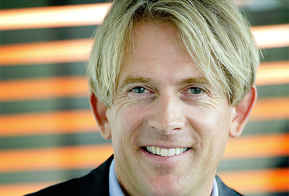Eivind Roald, SAS' konserndirektør for Sales and Marketing (foto fra SAS)