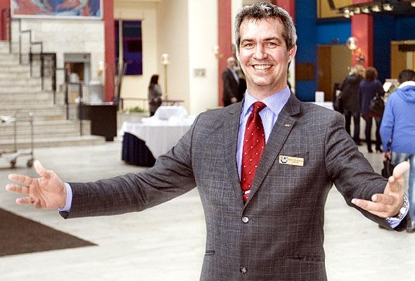 Bjørgvin Thorsteinsson, nyansatt direktør, Radisson Blu Royal Garden Hotel