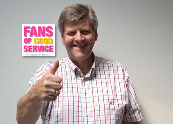 Ansgar Gabrielsen, leder av styringsgruppen for Fans of Good Service