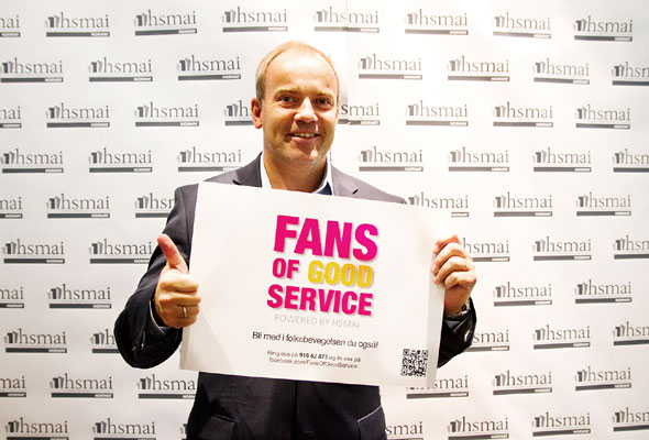 Martin Jørgensen. Fans of good service
