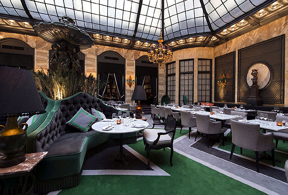 Palmen på Grand Hotel i Oslo. Foto fra Rica Hotels