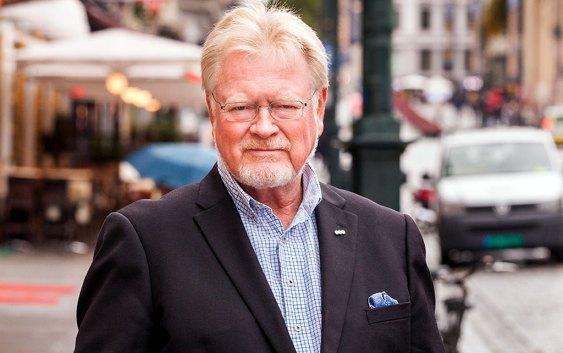 Gunnar Larssen, adm. dir. i OHF (Oslo Handelsstands Forening). Foto fra OHF